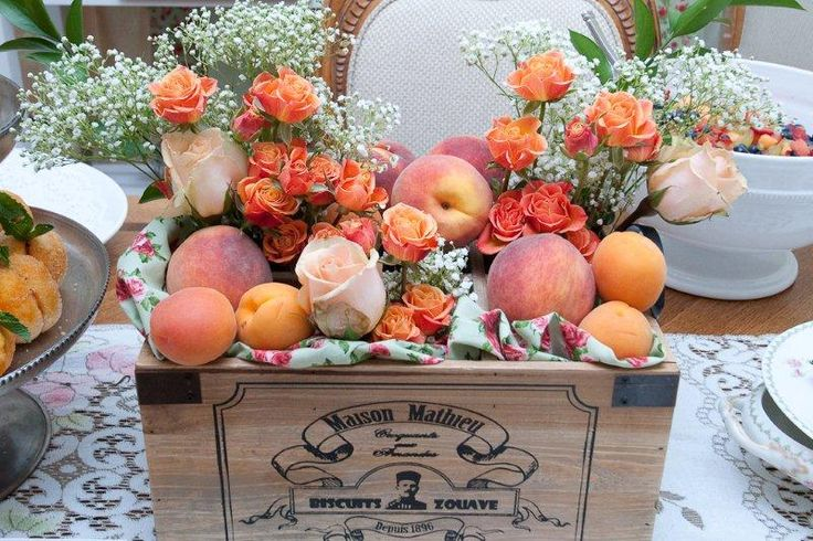 'Sweet as a Peach' baby shower
