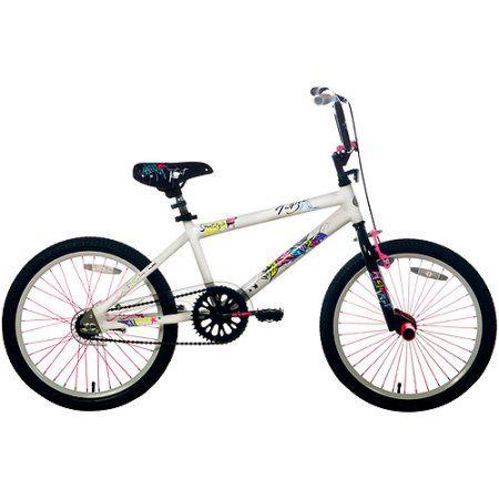 20 inch Taboo Girls' Bike, White
