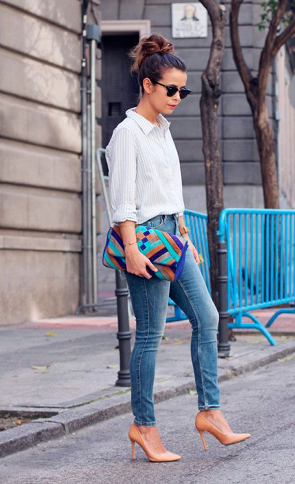 look bolsa colorida