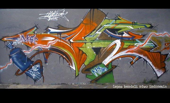 Mtwo indonesia Street Art Movement