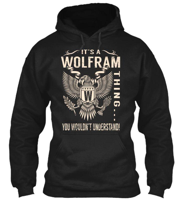 Its a WOLFRAM Thing #Wolfram
