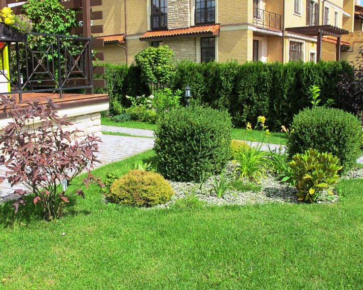 Реализованные проекты, Маленькая италия, Ландшафтный дизайн маленького участка.