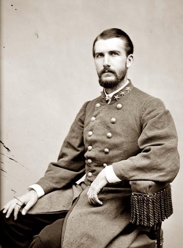 Col. J.B.Duman C.S.A. taken between 1860 -1865