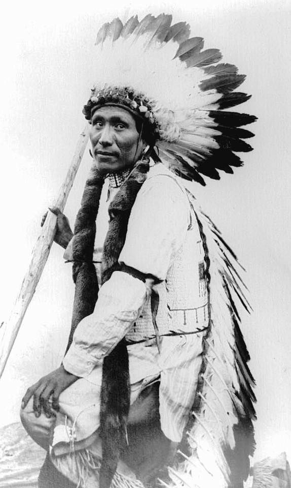 Paul Brown Robe. Oglala Lakota. Early 1900s. Photo by James B. Brown.