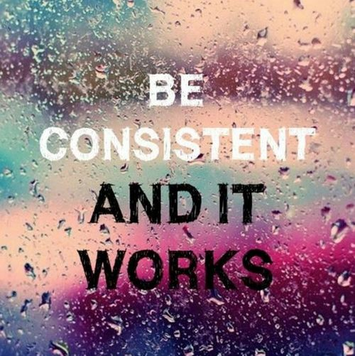 One of the keys to being good at something, is to be consistent! https://kandicelgray.iamlimu.com