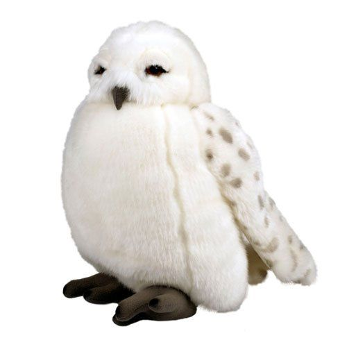 Harry Potter Plush Animals and Stuffed Toys: Hedwig Owl Puppet with Sounds