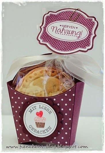 Friday 18 July 2014 Fienchen´s Stempelwelt: Stampin' Up! Fry Box, Oh My Goodies