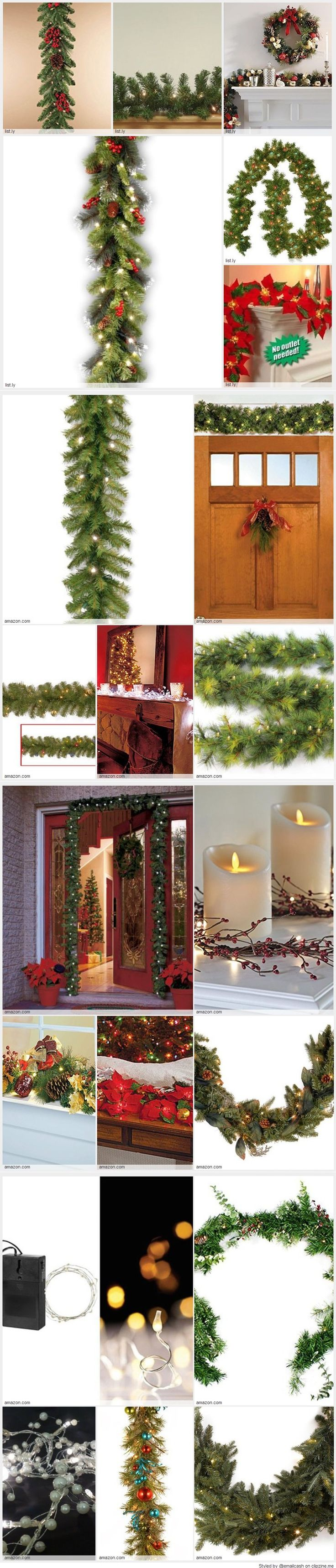 Cheap Christmas Garland With Lights - Battery operated Christmas garland makes it much easier to decorate your home for Christmas. You don't have to worry about where your electrical outlets are located or how you are going to run an extension cord without it being noticeable.