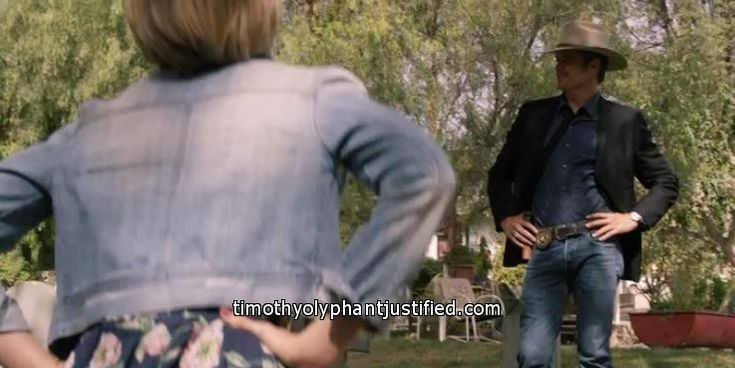 Raylan and Ava Justified Season 6 Review Episode 3 Noblesse Oblige - Timothy Olyphant