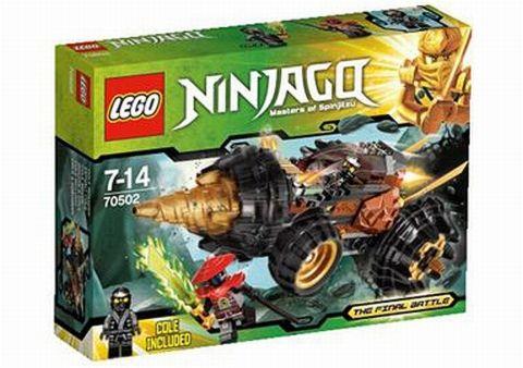 #70502 LEGO Ninjago Cole's Power Drill