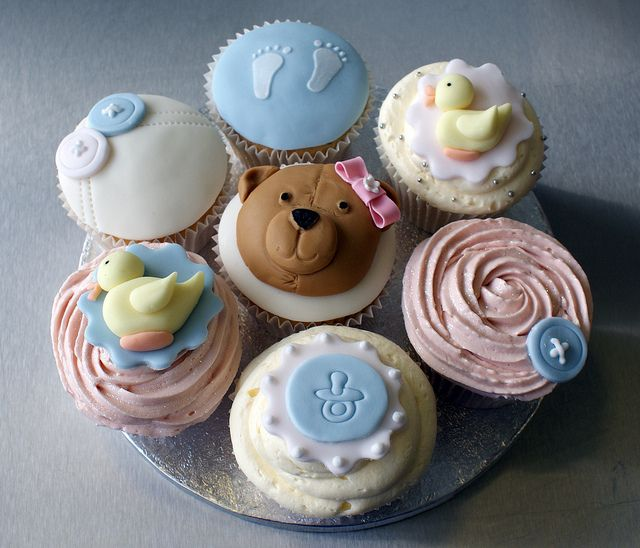 Babyshower cupcakes by Icing Bliss, via Flickr