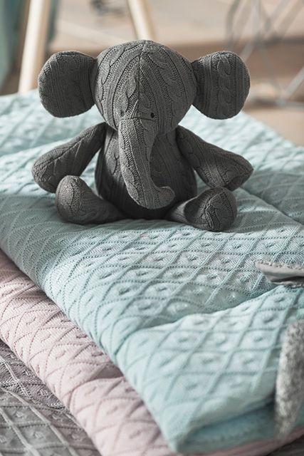 Playpen quilts Diamond knit by Jollein