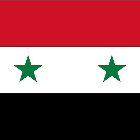 Syria Flag Stickers