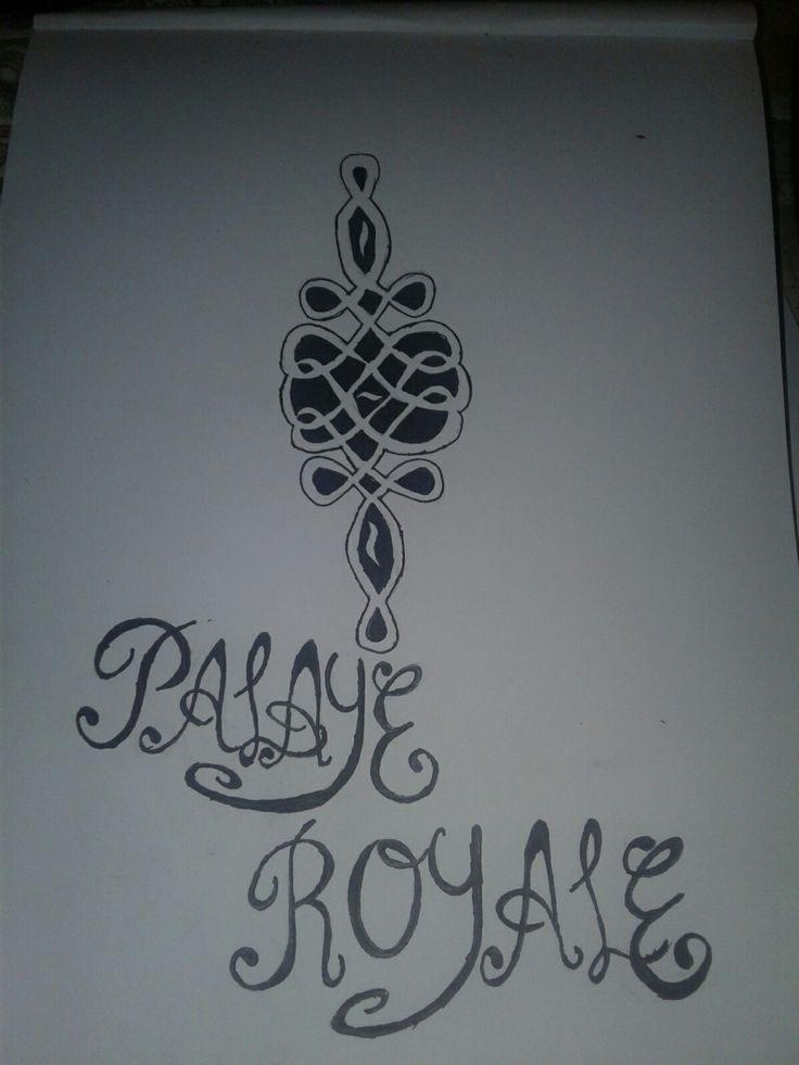 i drew the logo for palaye royale