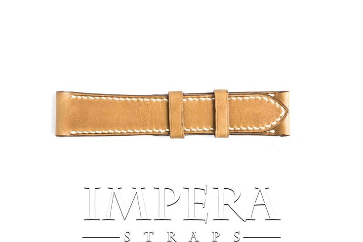 Vegetable Tanned Mustard Genuine Leather Watch Strap,https://www.imperastraps.com
