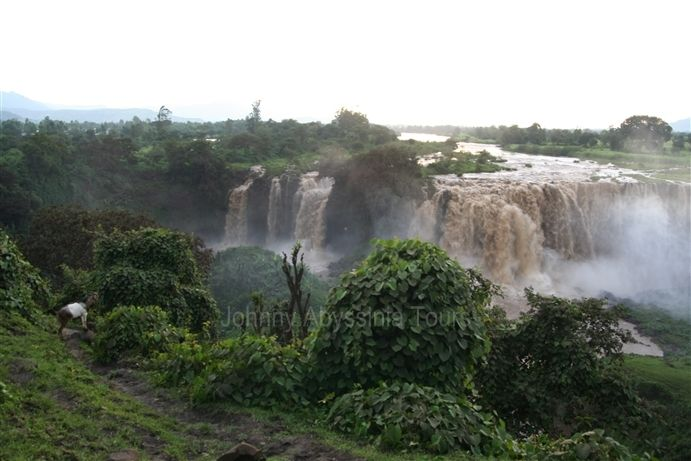 Cataratas del Nilo azul. Etiopía