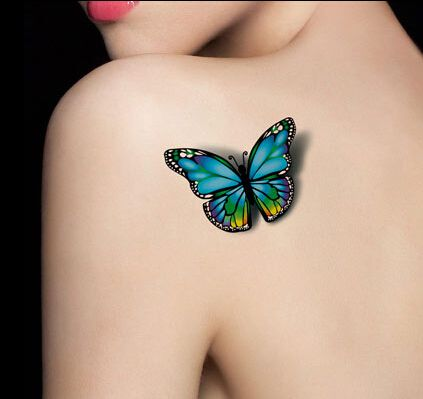 Popular Butterfly Tattoo Colors | Aliexpress
