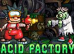 Acid Factory - http://www.littlemonstersgames.com/acid-factory/ - Description  Help Harry escape the horrors of his acid-flooded factory.  Instructions