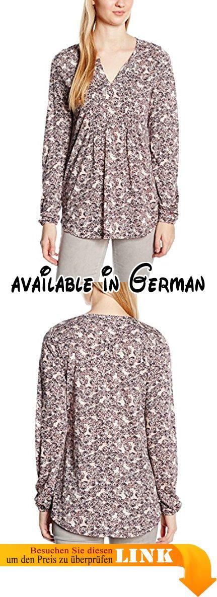 Marc O'Polo Damen, Langarmshirt, 601300952545, Mehrfarbig (combo S95), S (Herstellergröße S). Feminine Jersey-Damen-Langarm-Bluse mit hübschem All-Over-Print. Der weiche Stoff ist fließend und angenehm auf der Haut.. Halsferner Tunika-Ausschnitt mit zauberhaften Biesendetails. Der Saum ist abgerundet, die Passform ist körperumspielend. #Apparel #SHIRT