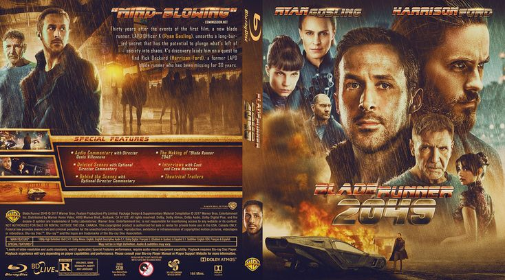 Blade Runner 2049 Blu-ray Custom Cover