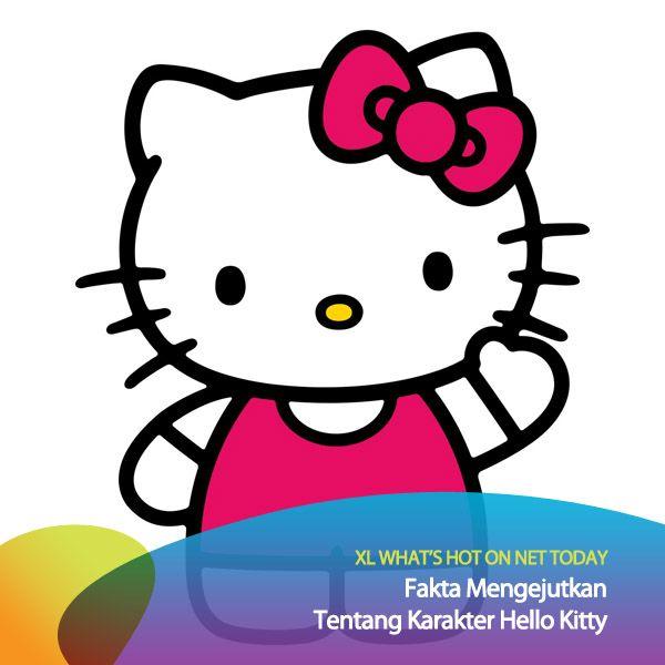 Tahukah kamu bahwa Hello Kitty bukanlah seekor kucing? Seperti dilansir the LA Times, Sanrio, sang kreator mengatakan Hello Kitty merupakan sosok seorang anak perempuan. #HotOnNetToday