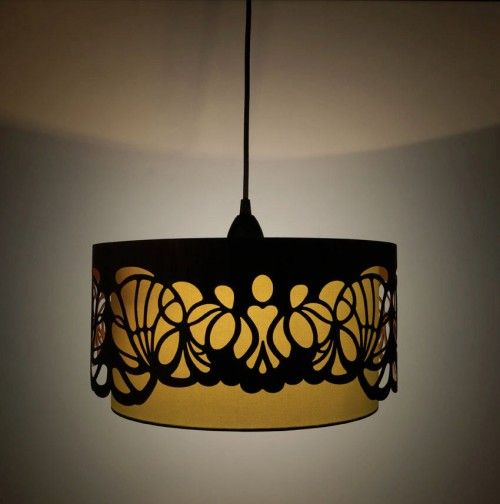 Laser cut wooden lampshades wooden lampshadehandmade