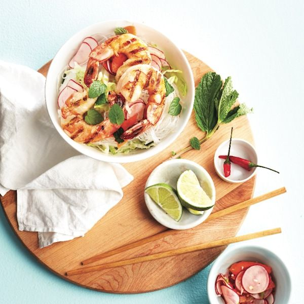 Ready in just 30 minutes, this shrimp salad is perfect for a summer barbecue and better than take-out! Get this shrimp salad recipe and more at Chatelaine.com