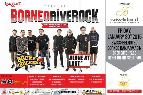 Borneo River Rock