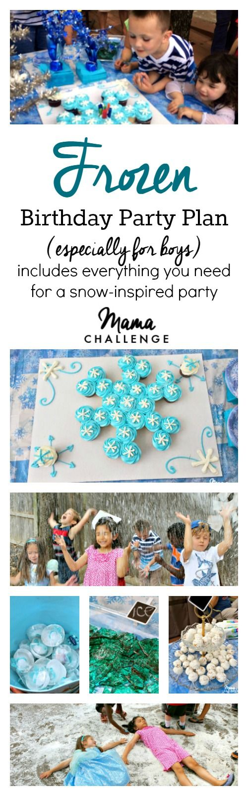 Whether you have an Anna, Elsa, Sven or Olaf, these are the coolest ideas for your Frozen Birthday Party (especially for boys!)