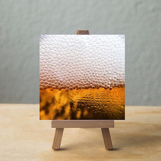 Beer art. Small art for big people. Visit www.vindeasel.com @vindeasealart