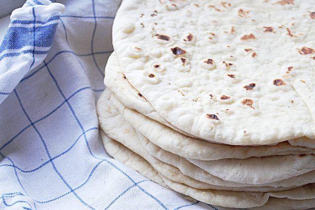 Mjuka Tortillabröd