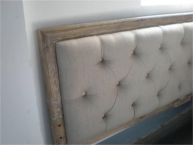 Cabecera para cama de dos plazas cabeceras pinterest - Cabeceras de cama tapizadas ...