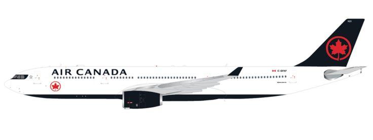1/400 GeminiJets Air Canada Airbus A330-300 Diecast Model
