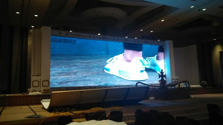 Nyala dech LED screen 46m2 easecox 2016 Sound JBL vertec series Lights, Multimedia LED screen, LCD projector Powered by ngi_INFINITE. INFINITE live (Lighting, Integrated Visual-audio Equipment) www.ngi-infinite.com