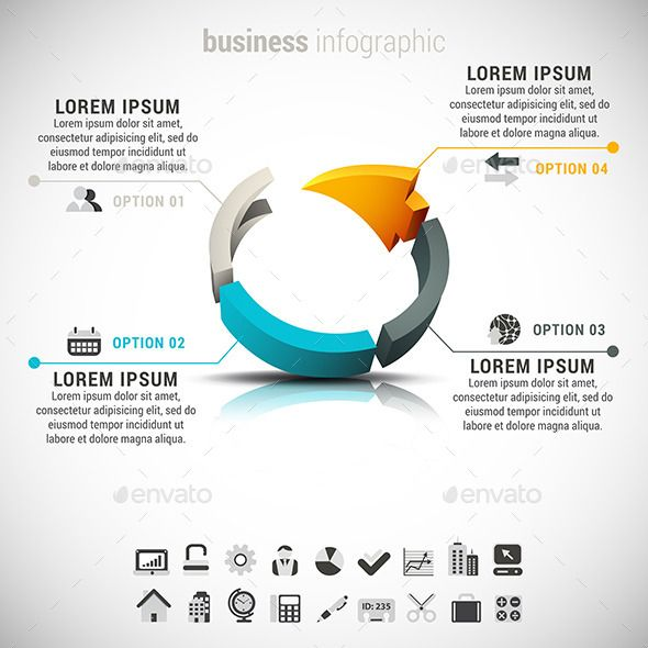 Business Infographic Template #design Download: http://graphicriver.net/item/business-infographic/8851928?ref=ksioks