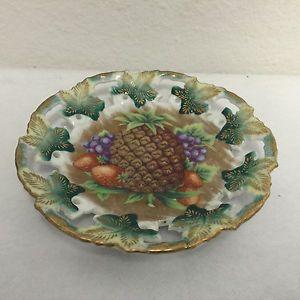 La imagen se está cargando Vintage-Royal-Sealy-China-6-Plate-Gold-Trim-