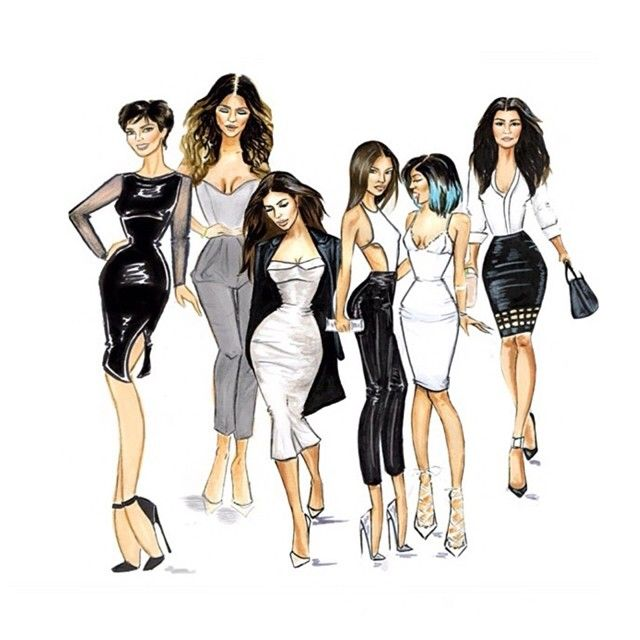 31 Best Images About Kardashian Drawings On Pinterest