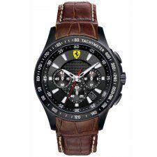 Scuderia Ferrari Men's Ion Plated Chronograph Watch 0830045