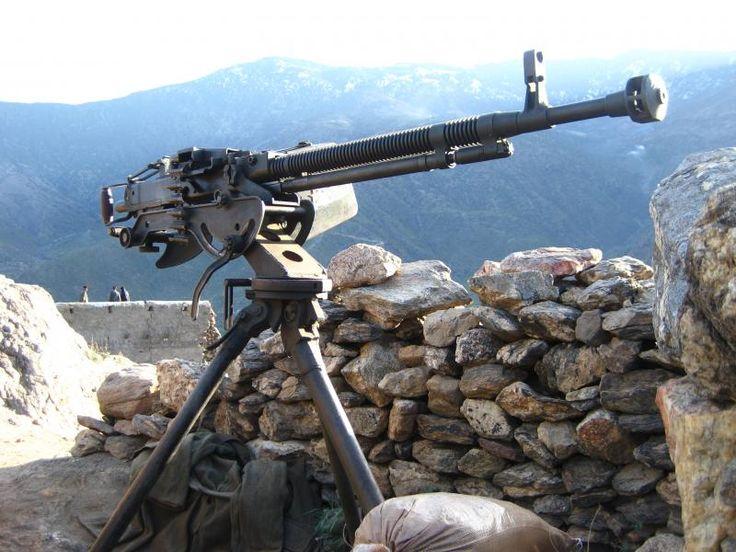 DShK Heavy Machine Gun. High ground defense in case a zombie herd comes along.