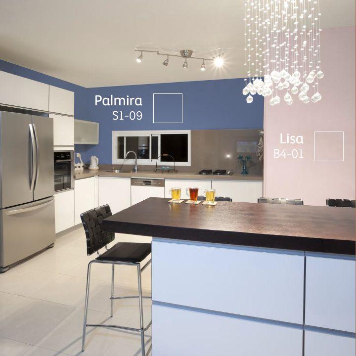Juega con diferentes #COLORES para darle un efecto más interesante a tu hogar.