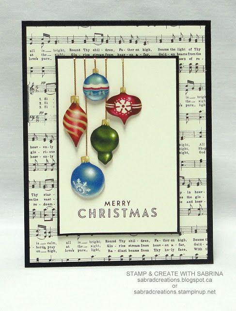 Merry Christmas card by Sabrina Radeck