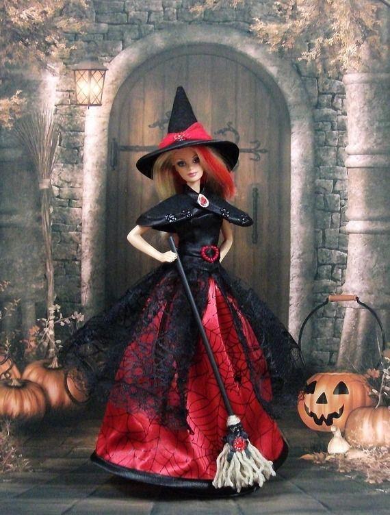 612 best halloween dolls images on pinterest. Black Bedroom Furniture Sets. Home Design Ideas