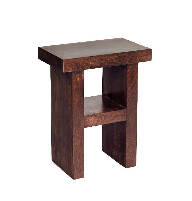 Dakota Mango Corner Table H Shape. 23 best End Side Tables images on Pinterest   Indian furniture