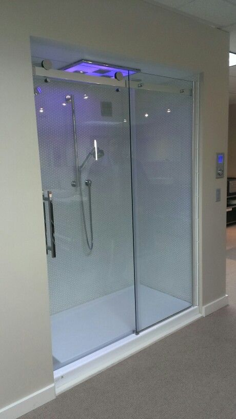 holcam barn door shower doors