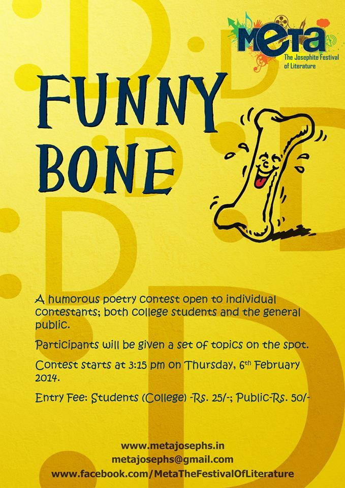 FUNNY BONE. Thursday 6th feb. 3:15