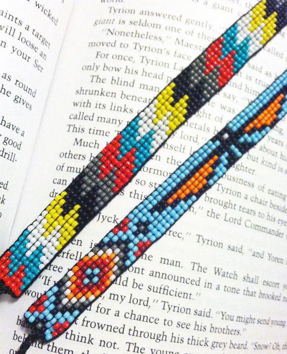 Custom Beaded Friendship Bracelet by UnderThoseNeonLights on Etsy, $12.00
