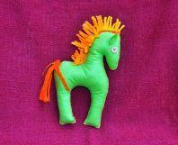 Textilné dekorácie: Filipkov koník