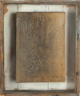 Wooden relief By Kain Tapper ,1975