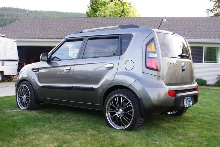 2015 Titanium Kia Soul Custom Wheels Google Search