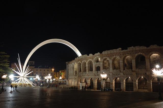 Arena di Verona and Piazza Brà during Christmas period ♥ ♥ ♥ ♥ ♥